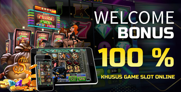 Welcome Bonus 100% Slot